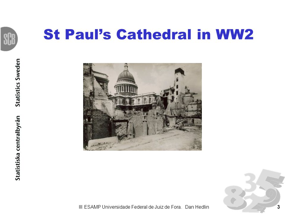 3 St Pauls Cathedral in WW2 III ESAMP Universidade Federal de Juiz de Fora. Dan Hedlin