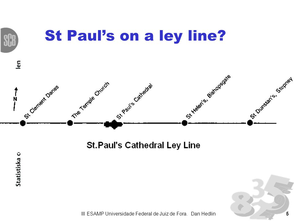 5 St Pauls on a ley line III ESAMP Universidade Federal de Juiz de Fora. Dan Hedlin
