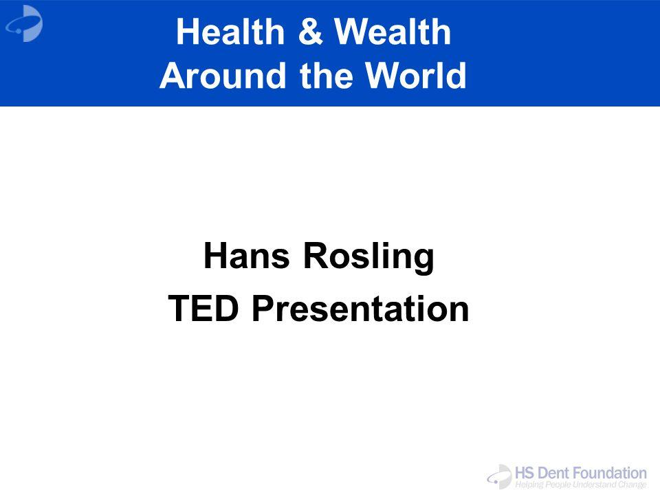 Health & Wealth Around the World Hans Rosling TED Presentation
