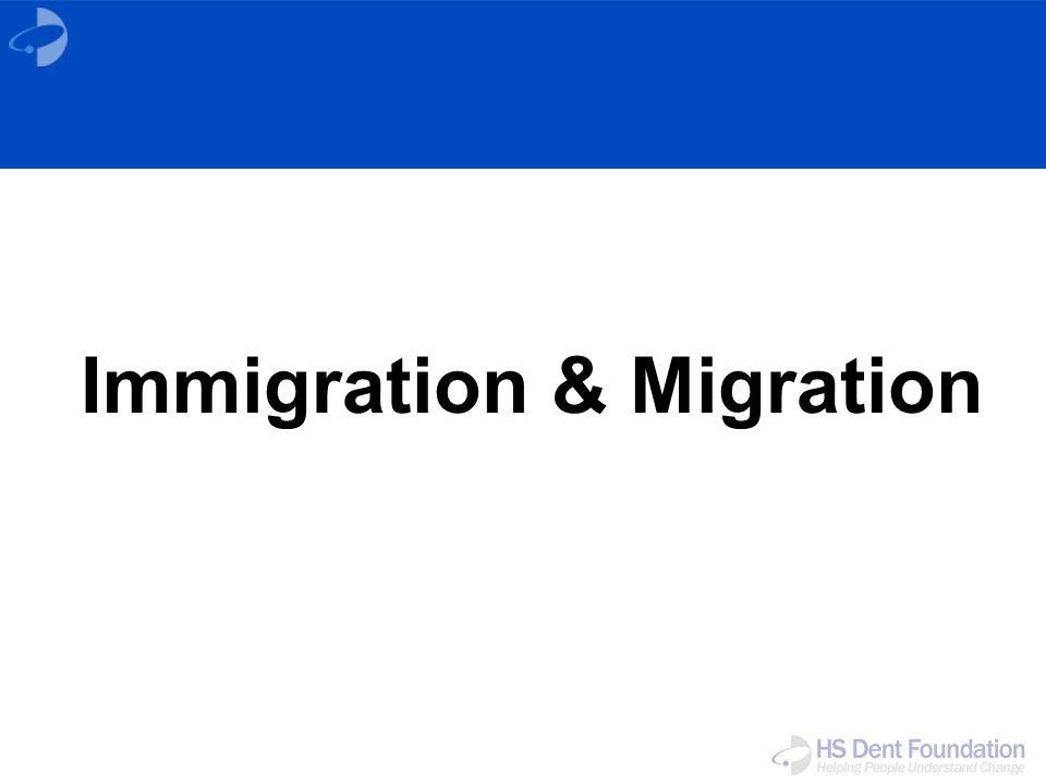 Immigration & Migration