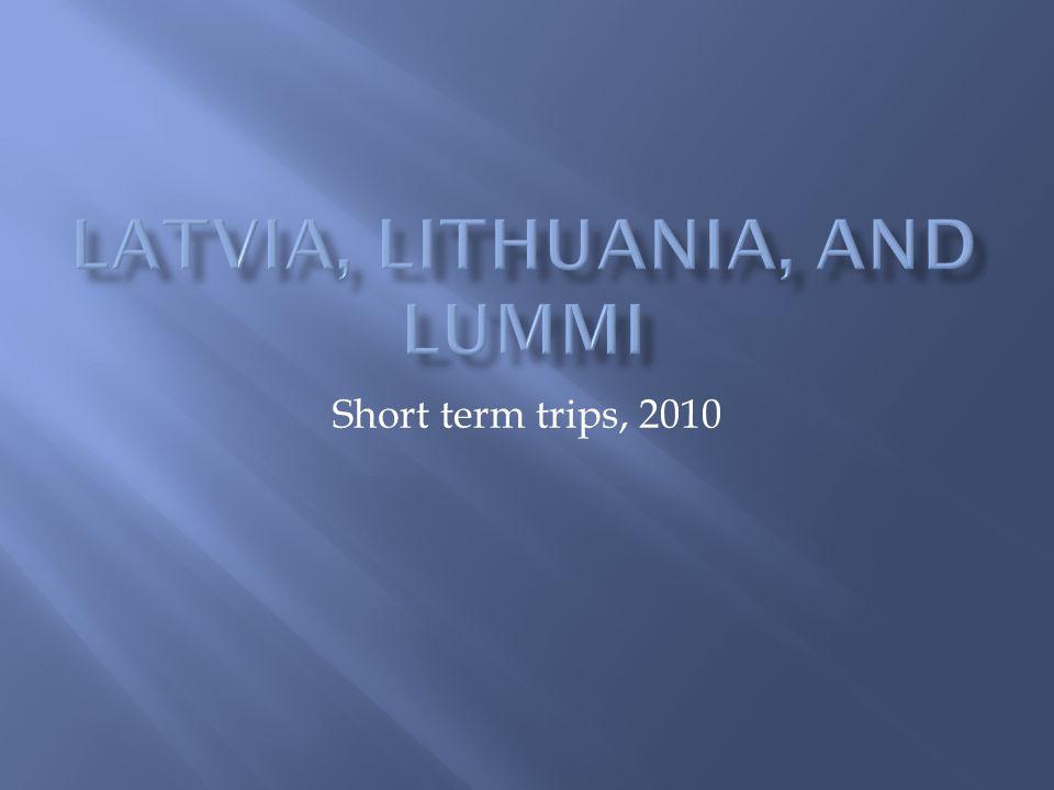 Short term trips, 2010