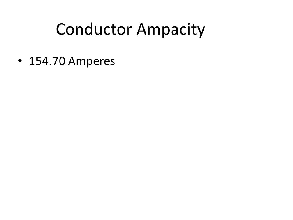 Conductor Ampacity A 1/0 AWG THHN conductor installed in an ambient temperature of 103 degrees F.