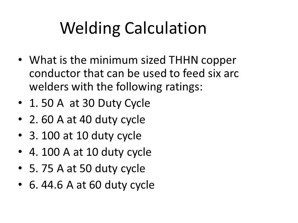 6 AWG THHN Based on the 60 degree column of 310.16 based on 110.14(C)