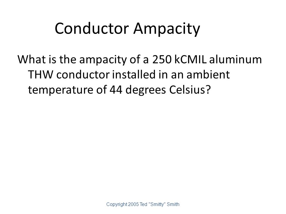 Conductor Ampacity 154.70 Amperes