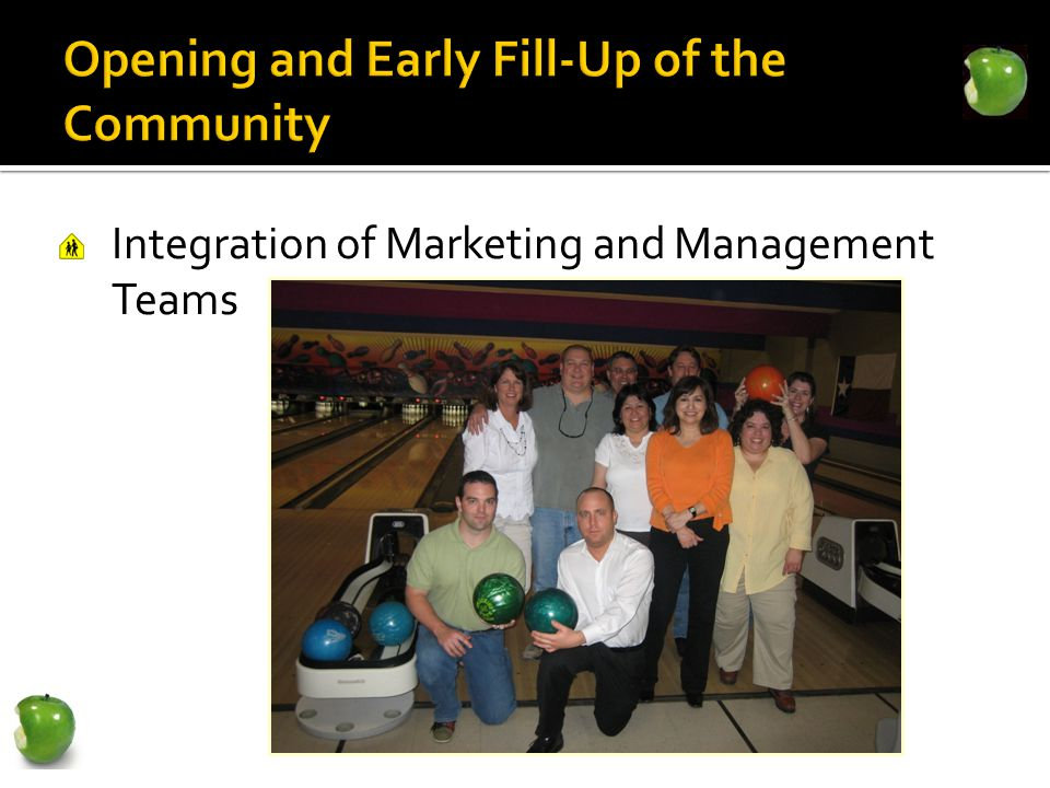 Integration of Marketing and Management Teams