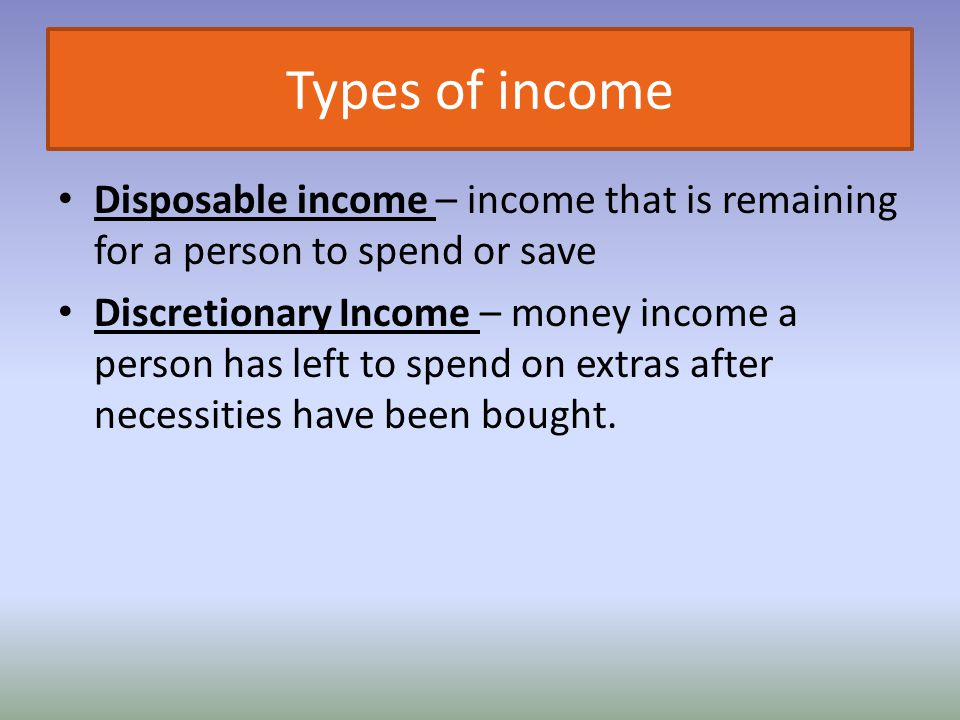 Many factors influence our choices Income Scarcity Time Opportunity Cost – what we are giving up