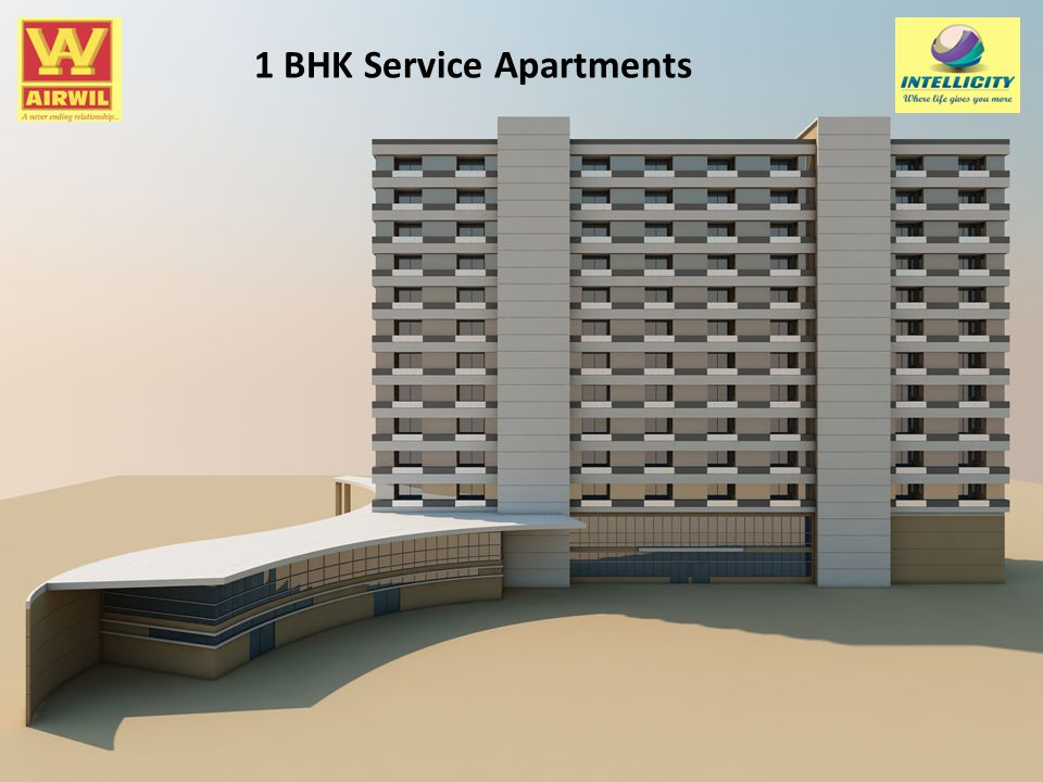 1 BHK Service Apartments