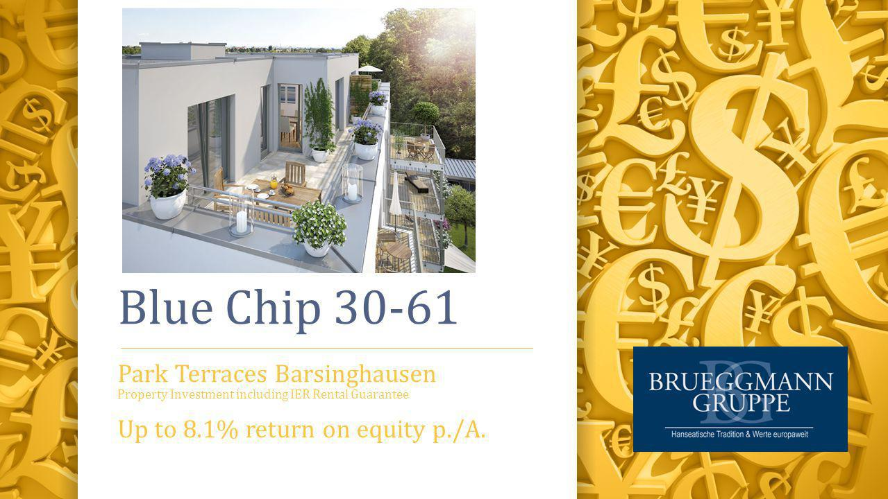 Blue Chip 30-61 Park Terraces Barsinghausen Property Investment including IER Rental Guarantee Up to 8.1% return on equity p./A.