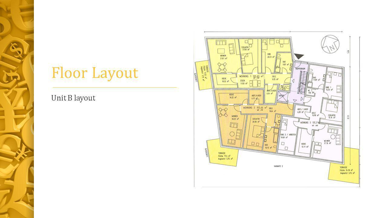 Floor Layout Unit B layout