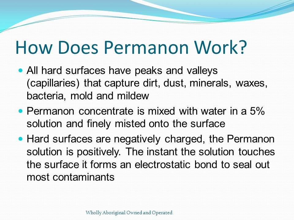 How Does Permanon Work.