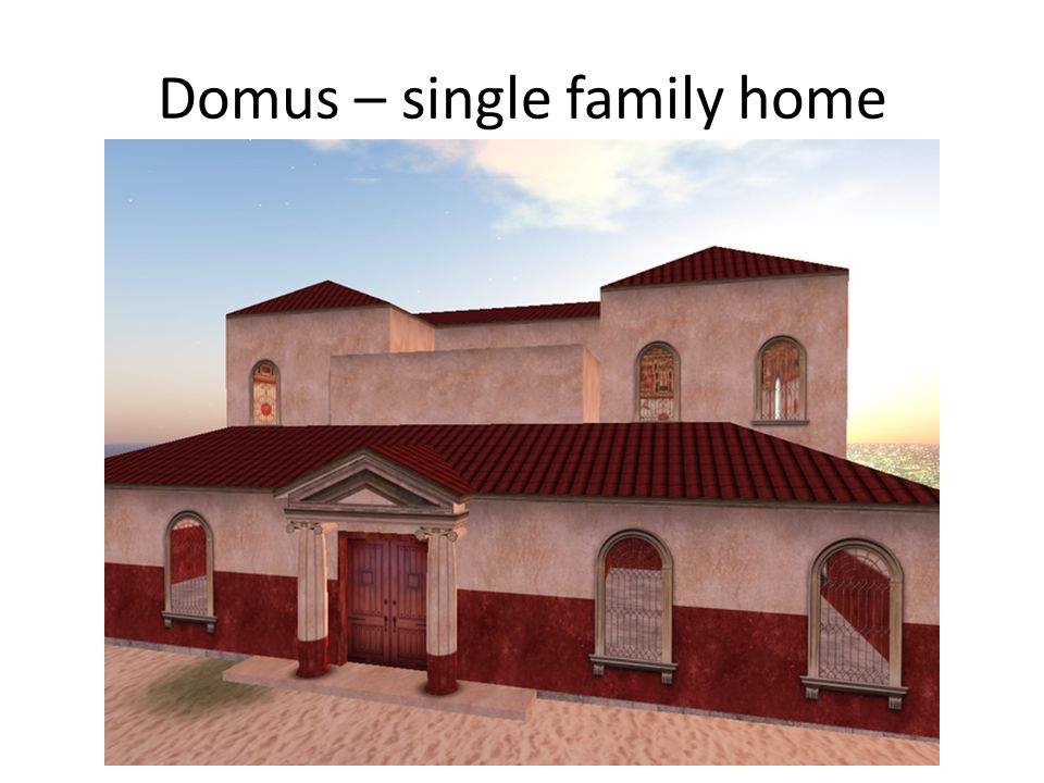 Domus – single family home