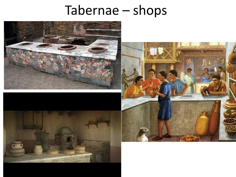 Tabernae – shops