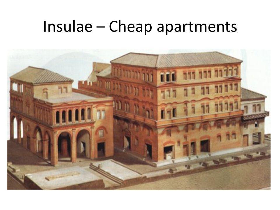 Insulae – Cheap apartments