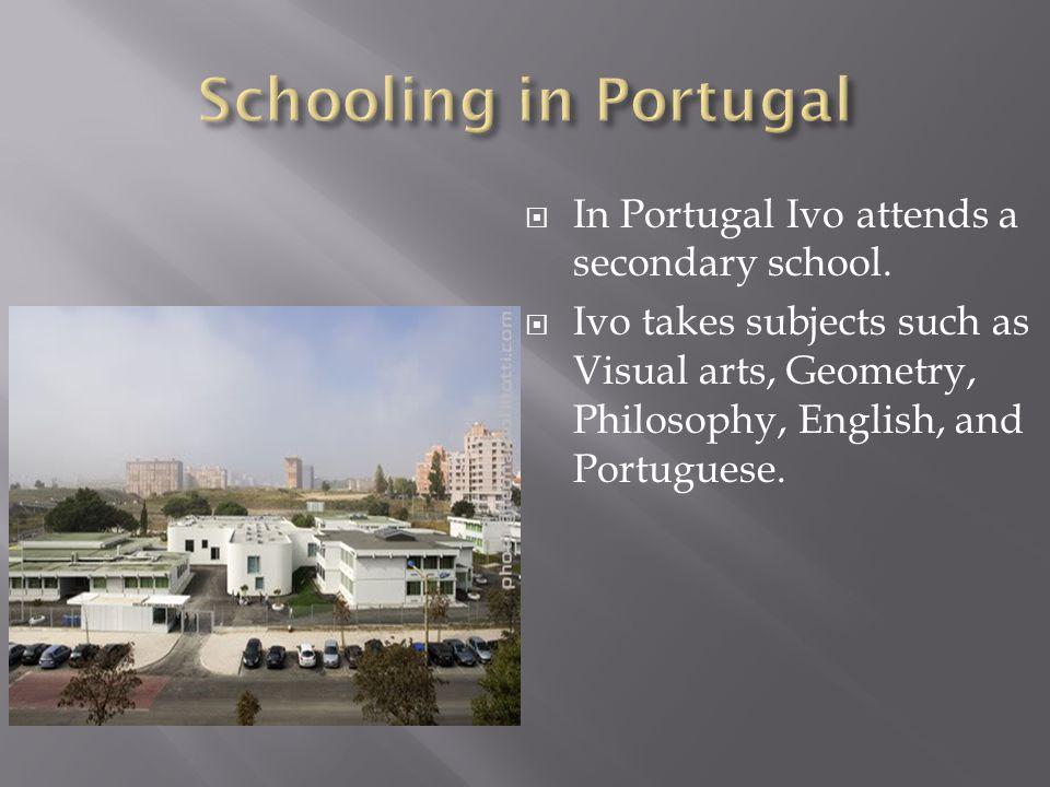 In Croatia Domagoj attends a vocational school or trade school. A vocational school is a secondary school that teaches skilled trades. Domagoj is stud