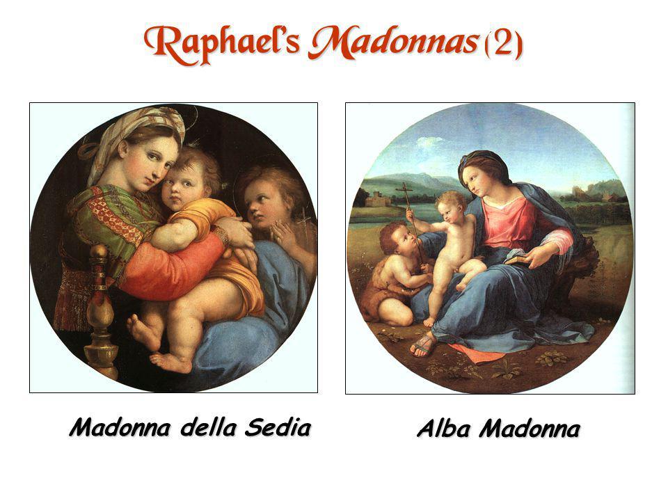 Raphaels Madonnas (1) Sistine Madonna Cowpepper Madonna