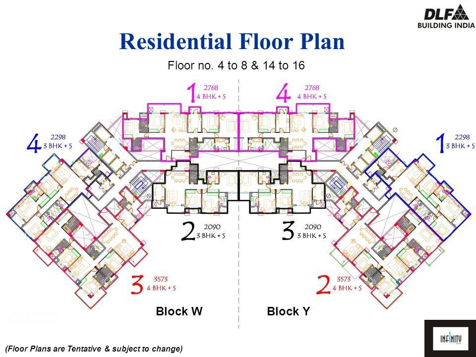(Floor Plans are Tentative & subject to change) Floor no.
