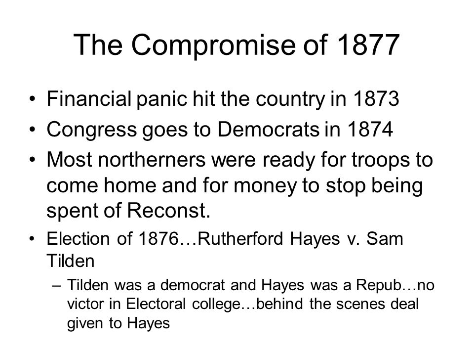 Insert the KKK here The 3 rd phase of Reconstruction was known as redemption –The radical reconstruction of Congress began to fizzle Secret societies sprang up to terrorize the freedmen and prevent them from full citizenship.