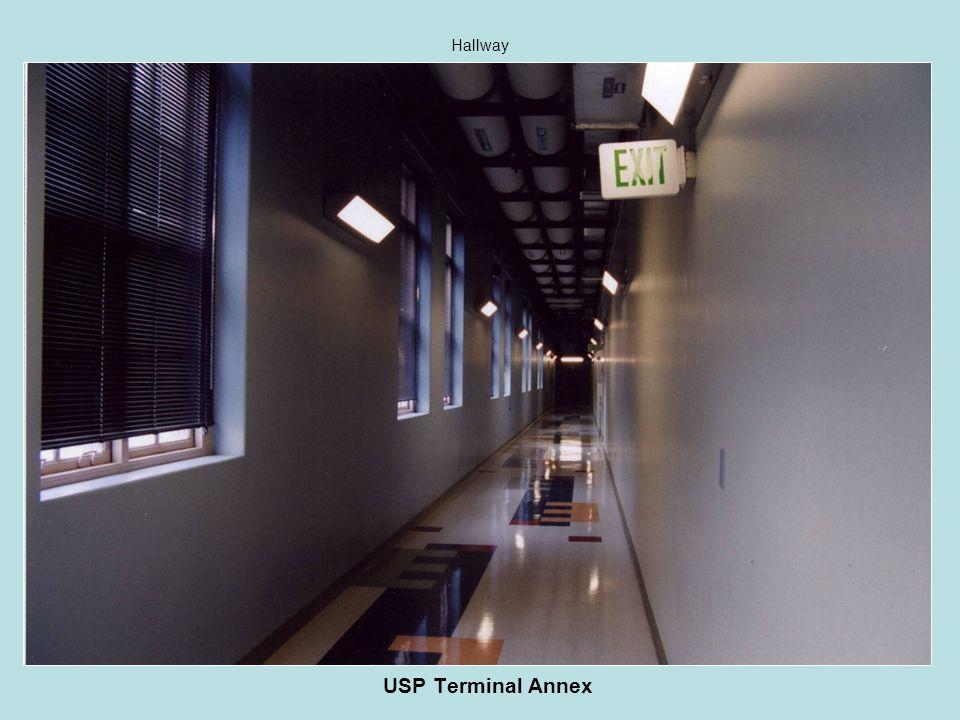 USP Terminal Annex Hallway