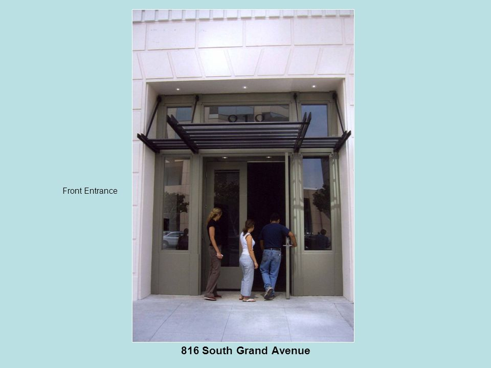 816 South Grand Avenue Front Entrance