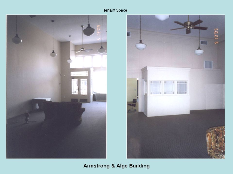 Armstrong & Alge Building Tenant Space