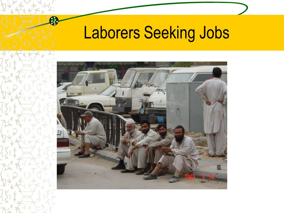 Laborers Seeking Jobs