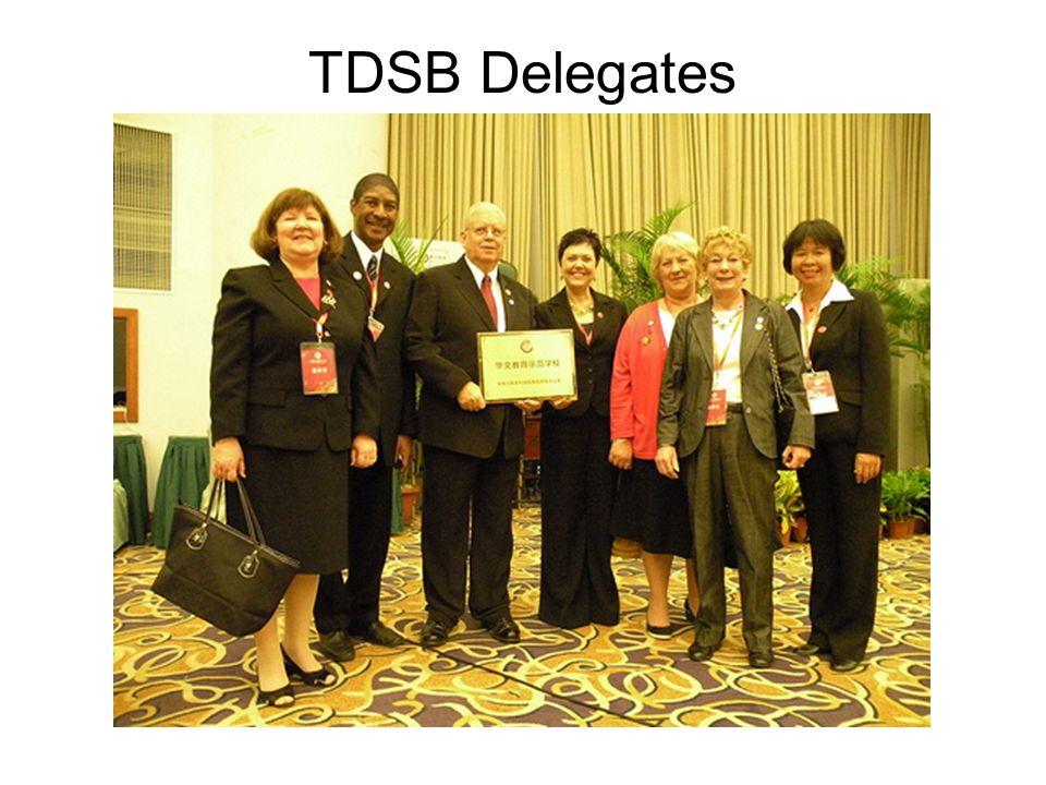 TDSB Delegates