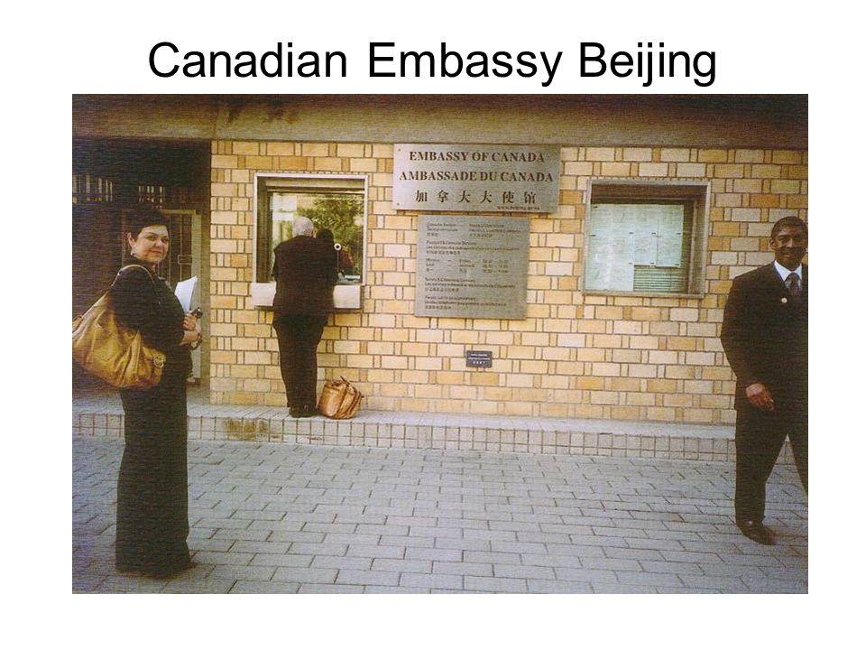 Canadian Embassy Beijing