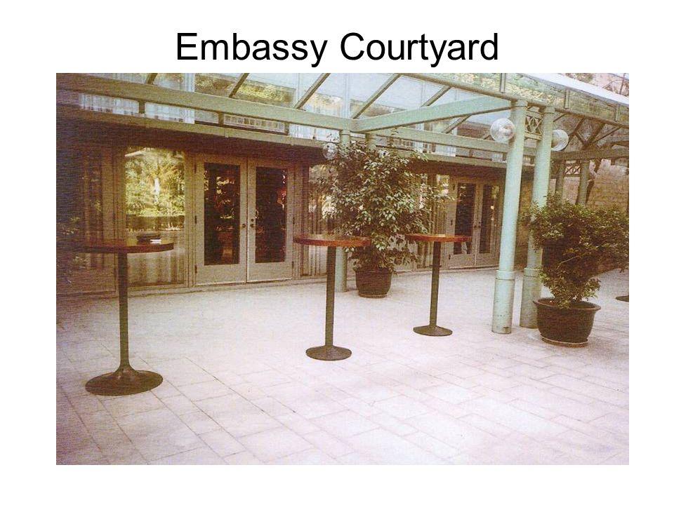 Embassy Courtyard
