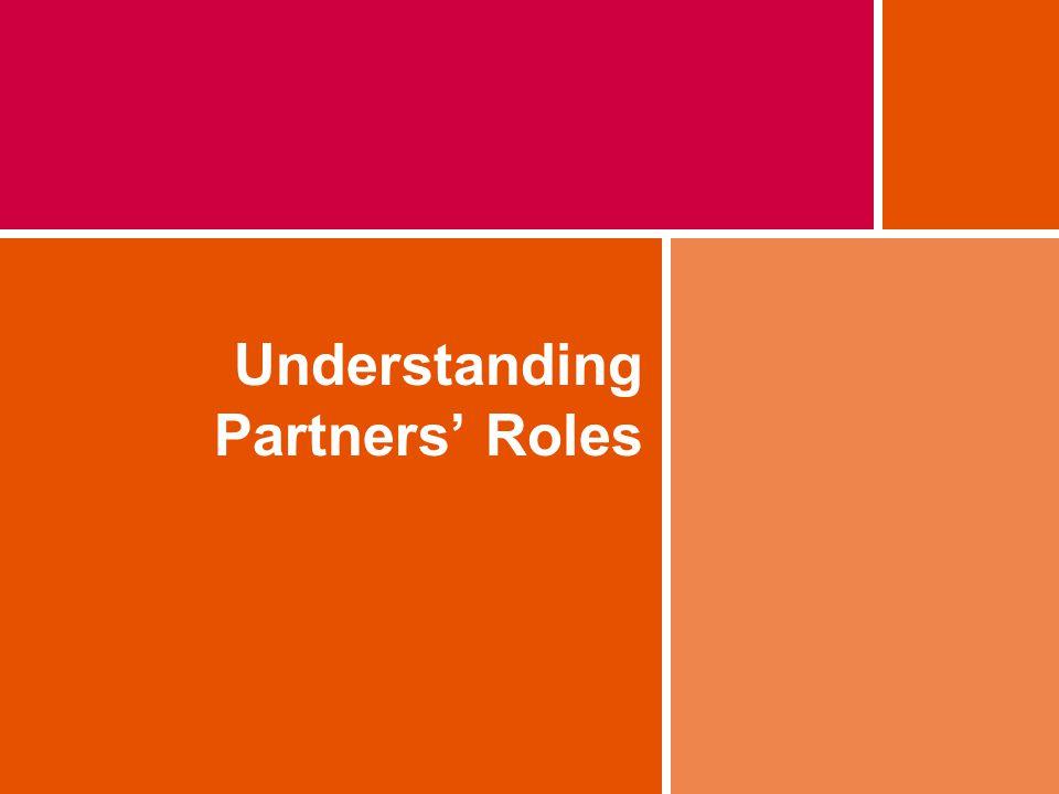 Understanding Partners Roles