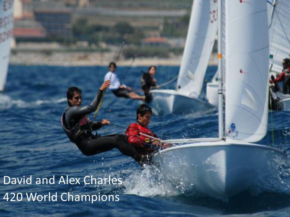 David and Alex Charles 420 World Champions