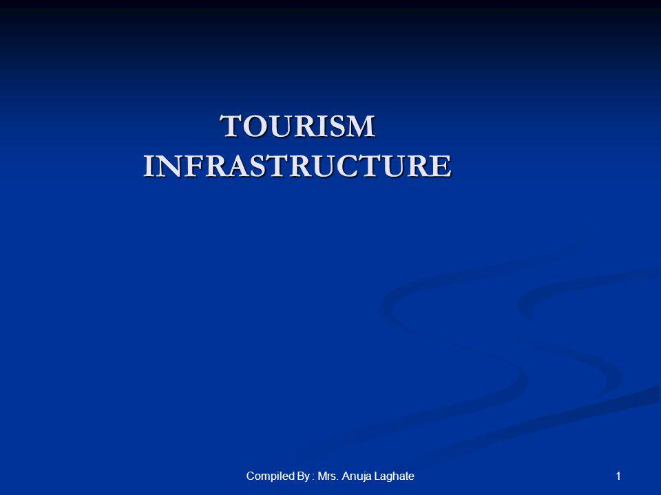 1Compiled By : Mrs. Anuja Laghate TOURISM INFRASTRUCTURE