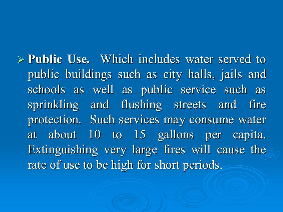 Public Use.