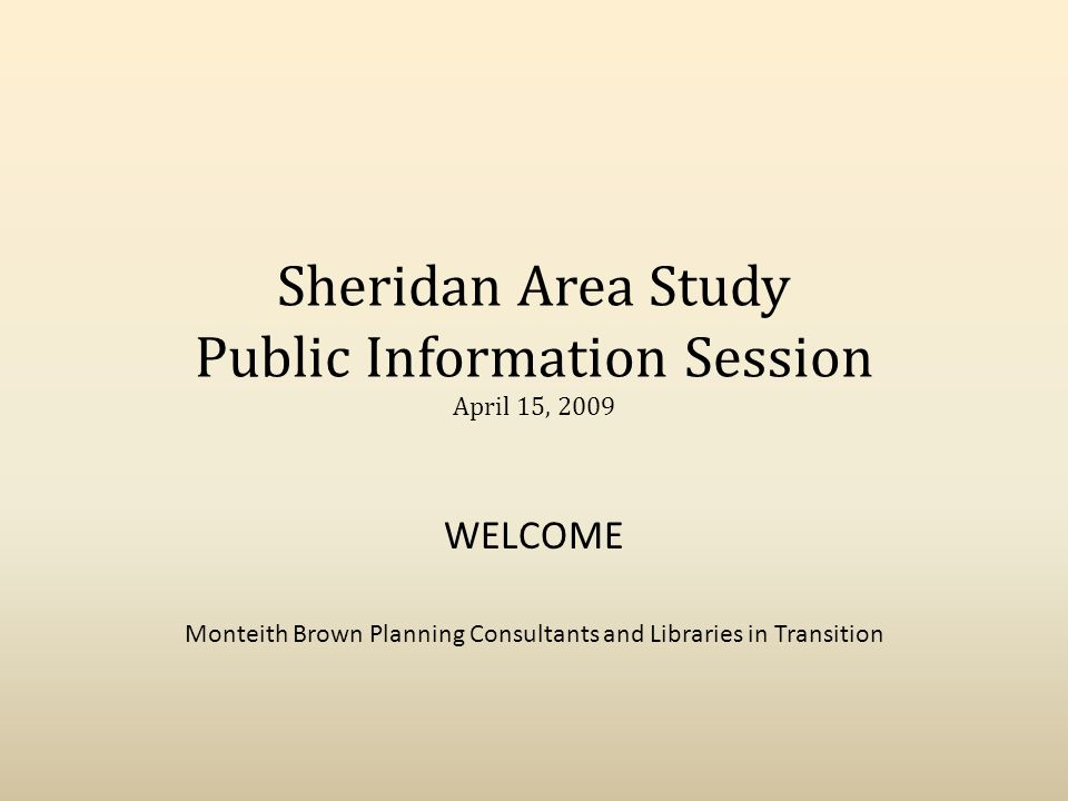 Sheridan Community Other Agencies: – Settlement Counsellor – BMC – Community Outreach Worker – Oakridge Public School – Polycultural Immigrant & Community Services – United Way of Peel – Boys and Girls Club of Peel – Ecosource – Peel District School Board – Erin Court Cooperative Houses Inc – Peel Health – Federation of Muslim Women
