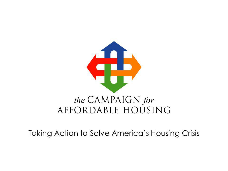 the Campaign for Affordable Housing USDA Photo