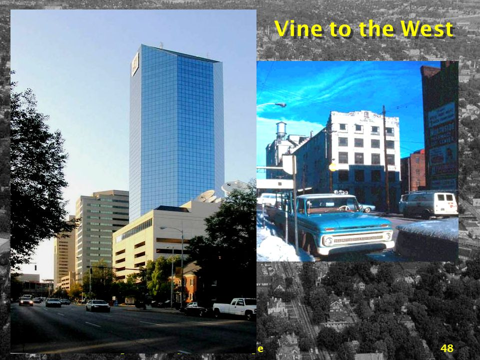 Downtown Lexington… 45 years of change47 East Vine from Viaduct