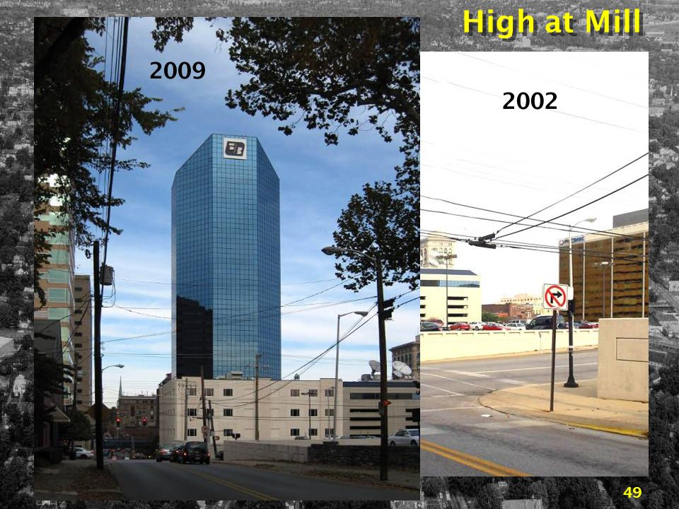 Downtown Lexington… 45 years of change48 Vine to the West