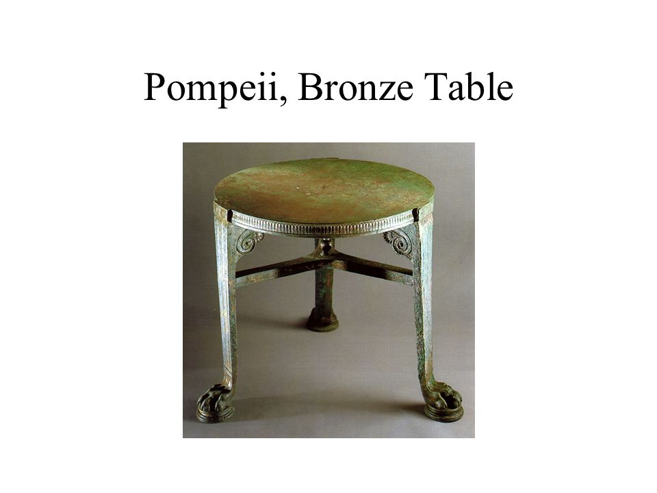 Roman Marble Table
