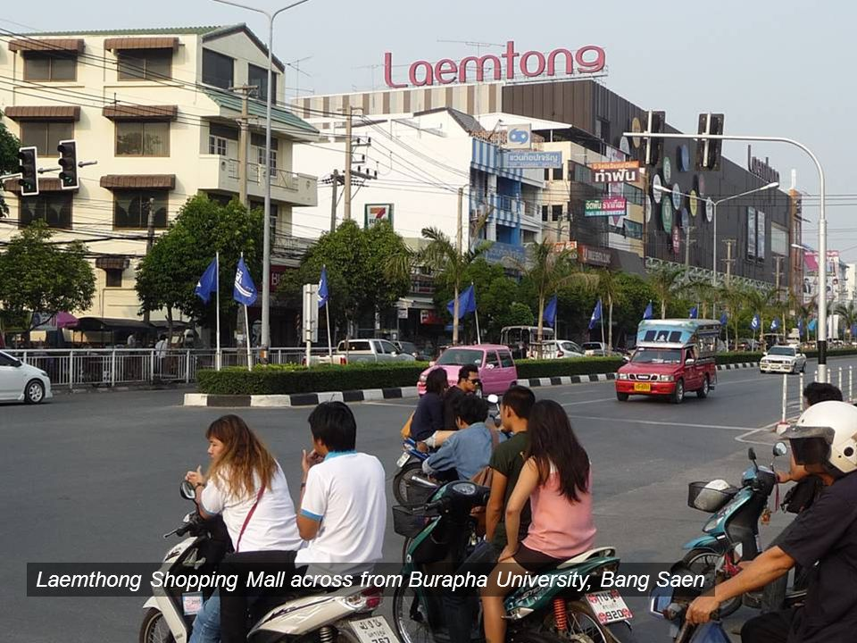 Laemthong Shopping Mall across from Burapha University, Bang Saen