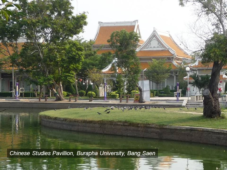 Chinese Studies Pavillion, Burapha University, Bang Saen