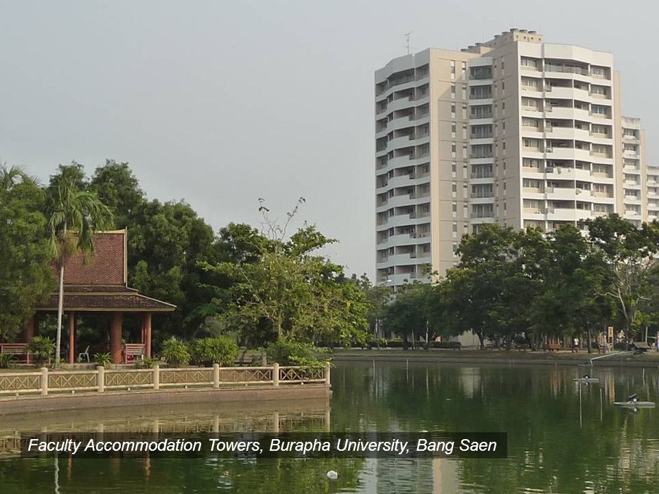 Burapha University, Bang SaenFaculty Accommodation Towers, Burapha University, Bang Saen