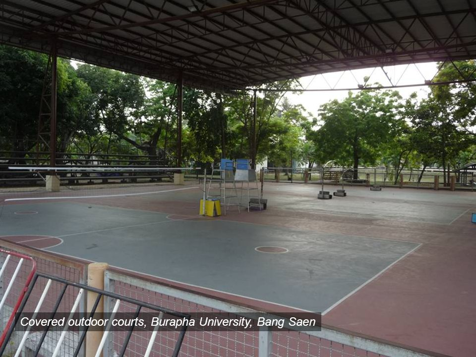 Covered outdoor courts, Burapha University, Bang Saen