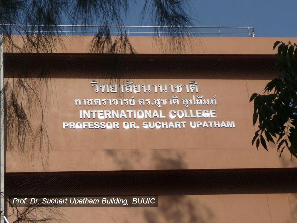 Prof. Dr. Suchart Upatham Building, BUUIC