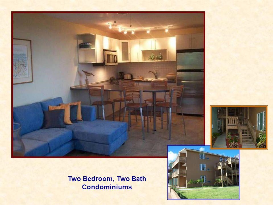 Two Bedroom, Two Bath Condominiums