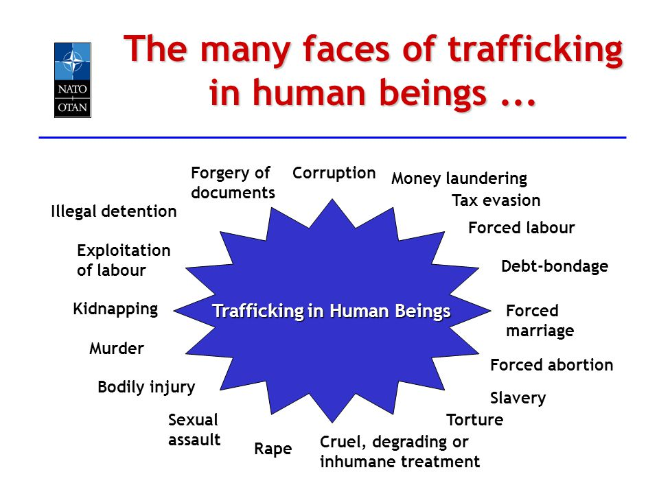 Debt-bondage Forced abortion Trafficking in Human Beings Corruption Slavery Forced labour Forced marriage Torture Cruel, degrading or inhumane treatme