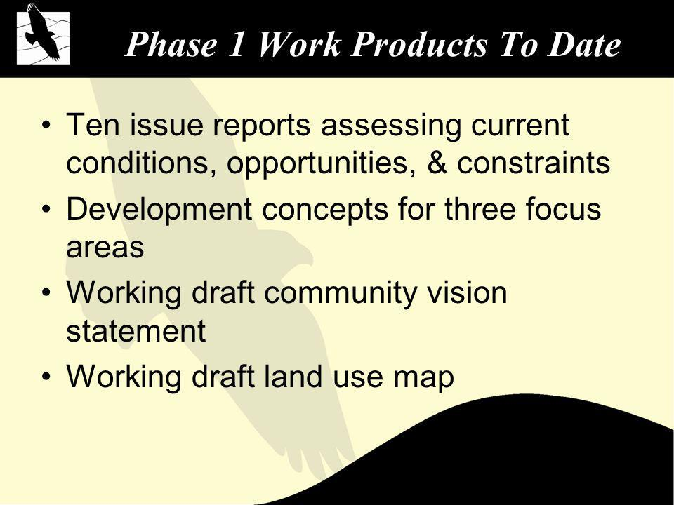 The Current General Plan Citys first General Plan, adopted 4 years following incorporation Adopted three years prior to Development Code –General Plan Consistency Review Program includes performance-based standards more typically included in Development Code –New General Plan to be more policy-oriented document with specific standards relocated to Development Code
