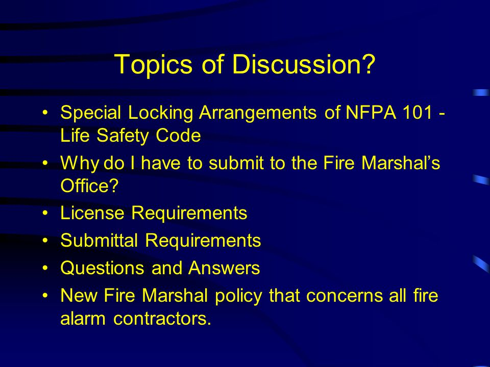Louisiana Burglar & Fire Alarm Association State Meeting May 18, 2000 Michael C.