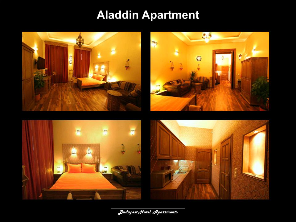 ______________________________ Budapest Hotel Apartments Aladdin Apartment