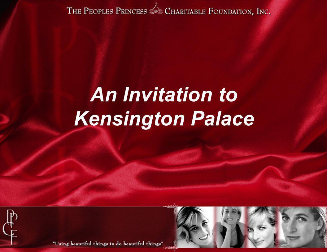 An Invitation to Kensington Palace