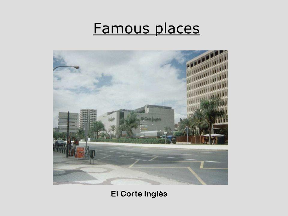 Famous places El Corte Inglés