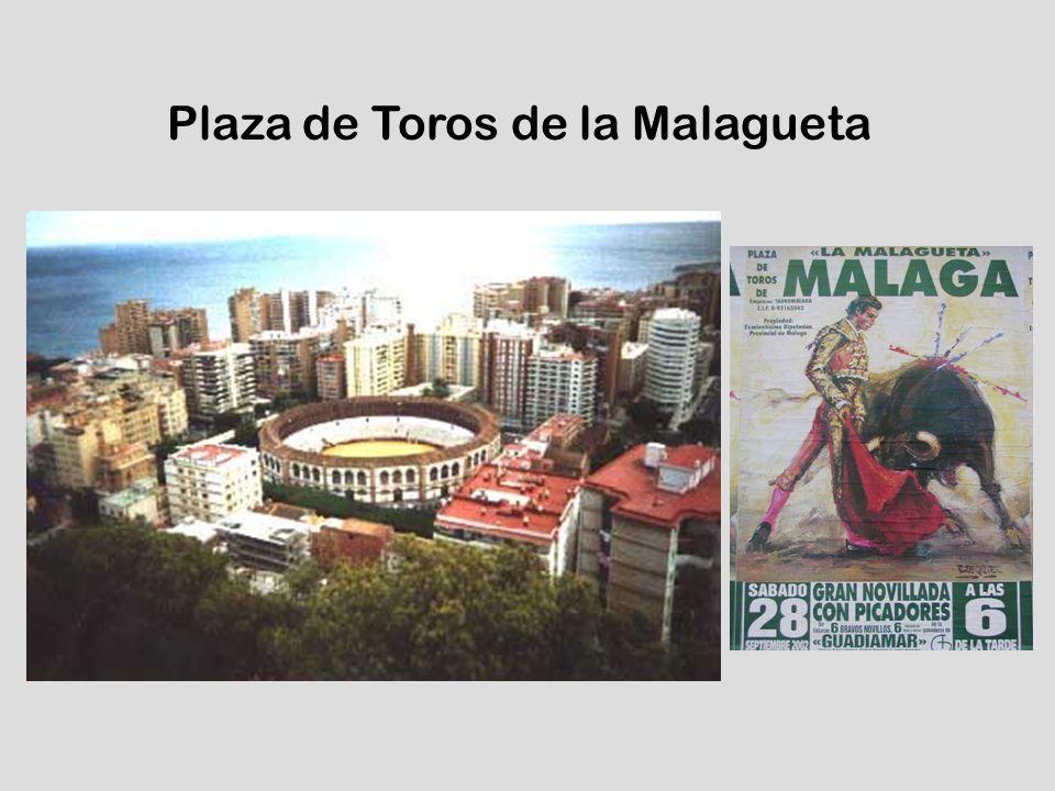 Tjurfäkningsarenan Plaza de Toros de la Malagueta